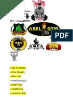 Logos de Los Gym de La Agrupacion