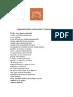 Seminario Poesía Complejidad y Transdiscipina 9 Marzo 2019