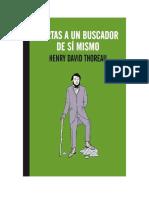 Cartas a Un Buscador de Sí Mismo. Henry David Thoreau
