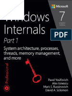 Windows Internals Part1 7th