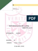 Histofisiología de La Piel