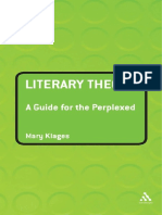 Literary Theory-a Guide for the Perplexed