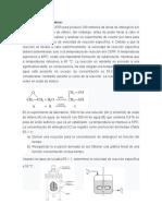 Ejercicio de Reactor Isotérmico.