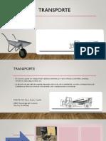 Mezclado y Transporte Del Concreto