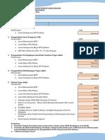 Formulir Persyaratan Pendaftaran Sidang