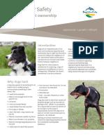 Responsible Pet Ownership - Barking Dogs April 2017