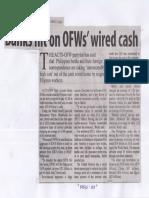Manila Standard, June 17, 2019, Banks hit on OFWs wired cash.pdf