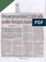 Manila Times, June 17, 2019, House processed 2,505 bills under Arroyo's leadership.pdf