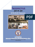 Prospectus B.v.sc and AH 2019-20
