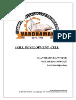 TSD (Level Based Practise)