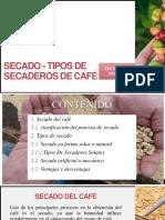 Secado - Tipos de Secaderos de Café