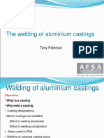 welding of Aluminium