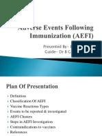 Adverse Events Following Immunization