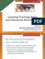 The Teaching Styles