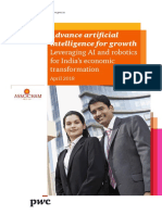 Advance Artificial Intelligence for Growth Leveraging Ai and Robotics for India s Economic Transformation