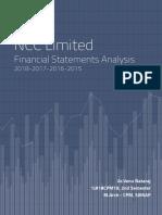 Financial Statement Analysis-NCC-Venu Nataraj