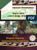 2019 Be Orientation