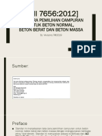 SNI 7656 Rancangan Beton