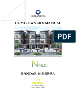 Home Owner Manual