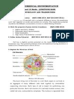 Ei 2311 Biomedical Instrumentation 2 Mar