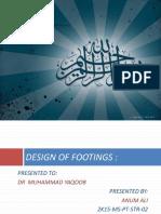 Raft n Pile Footing Design