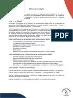 Definición y Alcance de La Alfabetización Digital