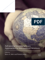 2017 Book Advancing Interdisciplinary Approaches to International Relations