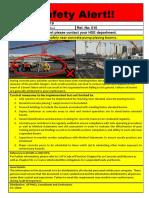 EHS Alert 010 - Concrete Placing Boom Operation