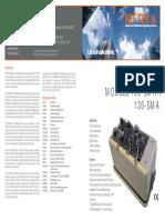 Accelerograph 130-SMHR & 130-SMA Brochure