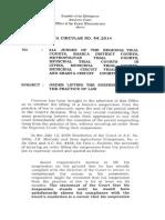 OCA Circular No. 44 2014