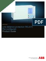 1MRK506317-BEN E en Product Guide REL670 1.2 Pre-configured