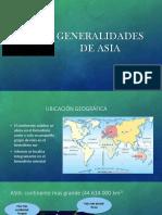 Generalidades de Asia