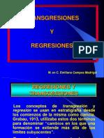 Regresiones y Transgresiones