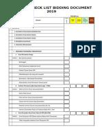 checklist bidding (re upload)
