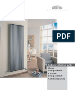 Radiator Selection Guide