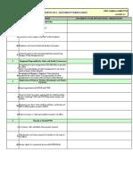 Document & Site Checklist