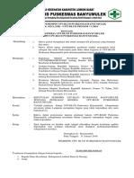 Sk 012 Penilaian Kinerja Upt-blud Puskesmas Banyumulek