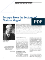 Gustave Magnel Lecture
