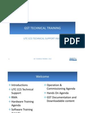 Gst Training 2013 Ppt Relay Sensor