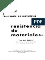 Elasticidad y Resistencia de Materiales Ortiz Berrocal