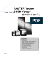 Italiano Micromaster Midimast. Vector
