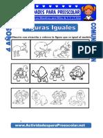 Figuras Iguales Para Niños de 4 Años