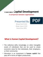 Human Capital Development - Faizan