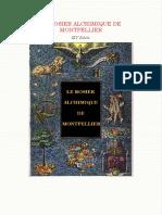 Arnaud de Villeneuve - Rosier Alchimique de Montpellier [Le] - XIVe s.