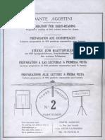 Dante Agostini -Preparazione Alla Letura a Prima Vista Vol 2