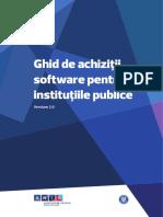 Ghid Achizitii Software Pentru Institutiile Publice RO v2.0