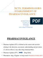 Pharmacovigilance introduction and terminologies