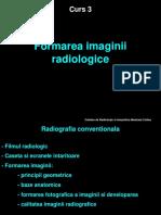 Formarea imaginii radiologice