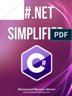 c# .Net Simplified Mohammed Manzoor Hmed