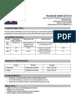 Prakhar Resume JUET
